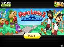 Papa Louie si Atacul Burgerilor