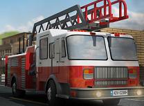 Parcari cu Masina de Pompieri 3D