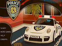 Parcari la Statia de Politie