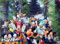 Pastele la Disney Litere Ascunse
