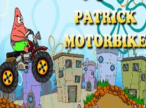 Patrick cu Motocicleta
