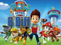 Paw Patrol 6 Diferente