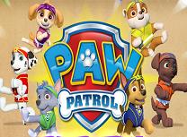 Paw Patrol Lupte Kung Fu