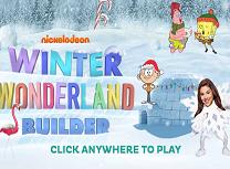 Personajele Nickelodeon Iarna