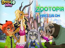 Personajele Zootopia la Coafor