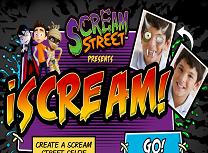 Personalizeaza Poza Scream Street