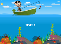 Pescuit cu Mr. Bean