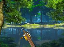 Pescuit pe Lacul din Padure