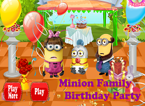 Petrecere cu Familia de Minioni