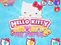 Petrecerea Hello Kitty