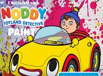 Picteaza cu Noddy Detectivul
