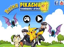 Pikachu Atac Fulger