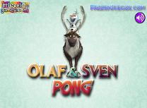 Ping Pong cu Olaf si Sven