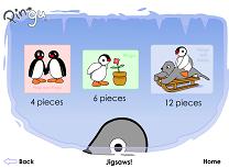 Pingu Puzzle