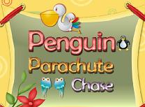 Pinguin in Aer
