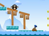 Pinguin la Apa