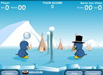 Pinguinii Joaca Volei