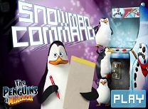 Pinguinii si Atacul Oamenilor de Zapada