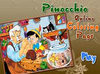 Pinocchio de Colorat