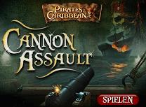 Piratii din Caraibe Batalie cu Tunuri
