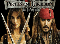 Piratii din Caraibe Numere Ascunse