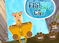Pisica la Pescuit