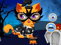 Pisicuta de Halloween