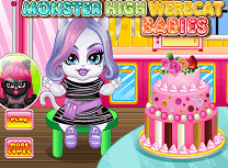 Pisicutele Monster High