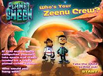 Planeta lui Sheen Chestionar