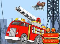Pompieri in Orasul Copiilor