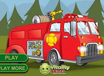 Pompieri in Padure