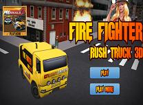 Pompierii si Masina de Interventii