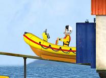 Pompierul Sam si Barca de Salvare