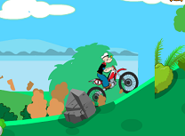 Popeye Cursa cu Motocicleta