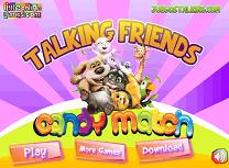 Potriviri cu Talking Friends
