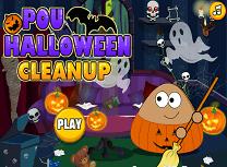 Pou Curatenie de Halloween