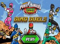 Power Rangers Confruntarea Dino