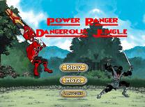 Power Rangers Jungla Periculoasa