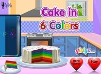 Prajitura in 6 Culori