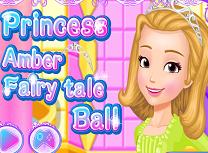 Printesa Amber Pregatiri de Bal