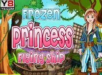 Printesa Anna si Corabia Zburatoare
