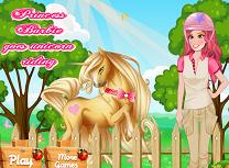 Printesa Barbie Calareste Unicornul