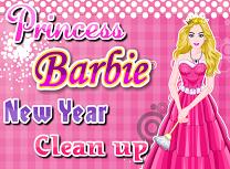Printesa Barbie Curatene de Anul Nou