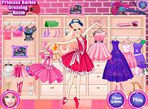 Printesa Barbie Decoreaza Garderoba