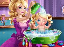 Printesa Barbie si Bebelusul