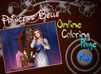 Printesa Belle de Colorat