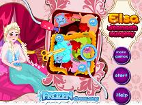 Printesa Elsa Operatie la Stomac