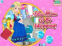 Printesa Elsa la Cumparaturi