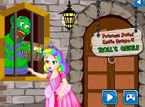 Printesa Juliet in Castelul Trolului
