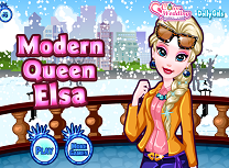 Printesa Moderna Elsa